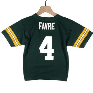 Brett Favre NFL Green Bay Packers boys Jersey